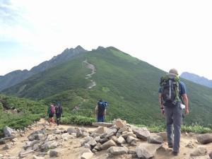 西穂高岳 (9)