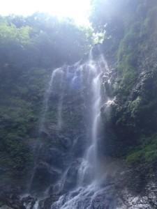 三ノ滝。すだれ状が美しいっす