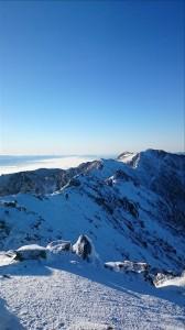 空木からの南駒ヶ岳