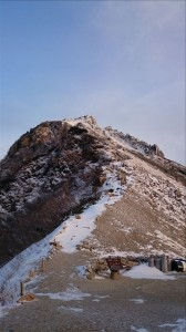 木曽乗越から空木岳方面