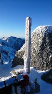空木岳2863m山頂