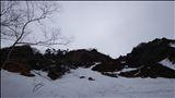 石尊稜取り付き付近