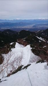 石尊稜・雪稜