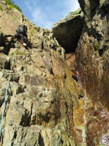 2つ目の滝。