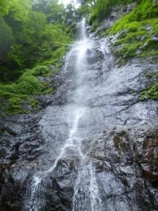 奥の二俣にある大滝