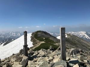 薬師岳頂上2926m