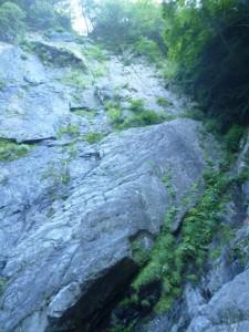 巻いた3つ目の滝
